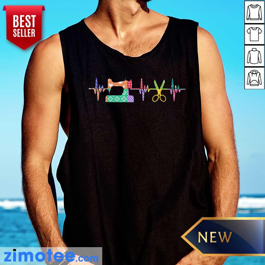 Nice Quilter Sewing Heartbeat Tank Top