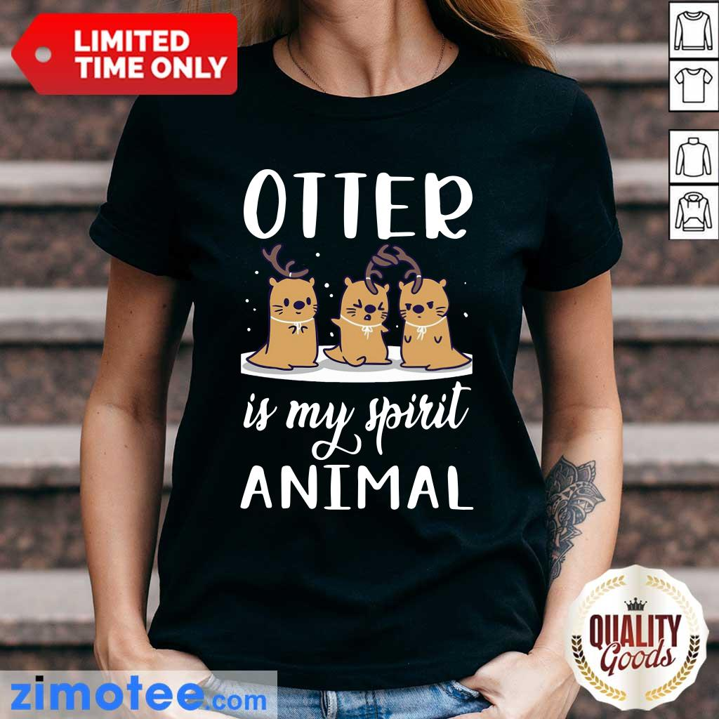 Otter Is My Spirit Animal Ladies Tee