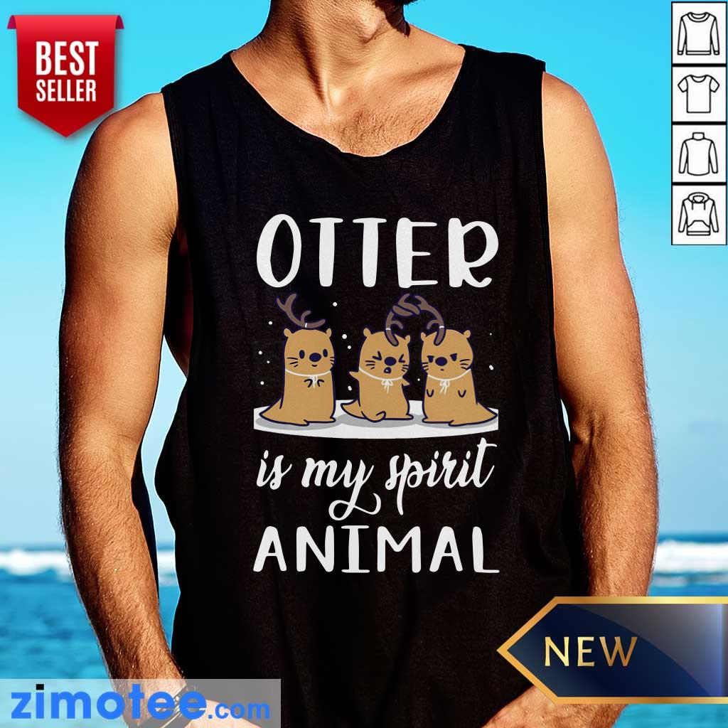 Otter Is My Spirit Animal Tank Top