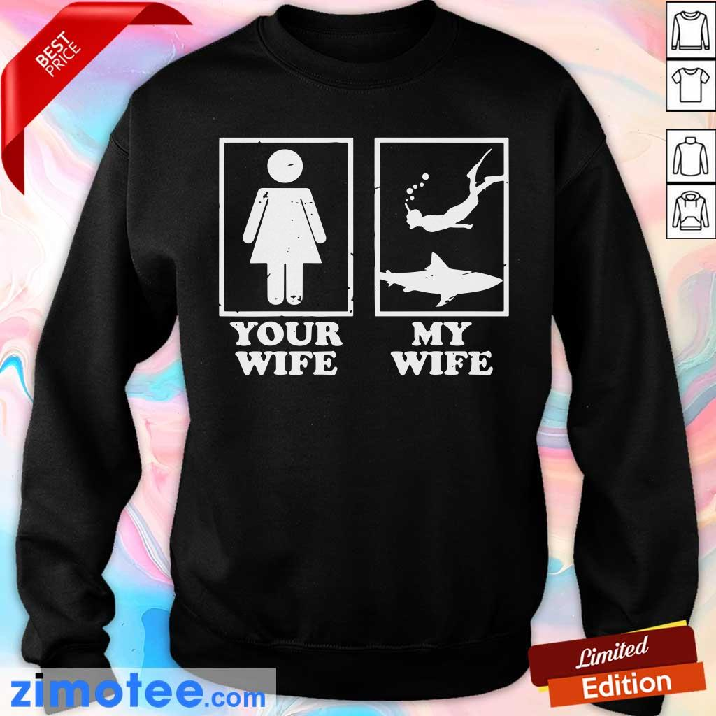 Your Wife My Wife Diving Sweater