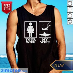 Your Wife My Wife Diving Tank Top