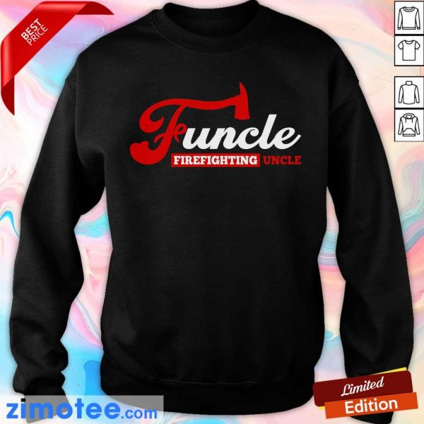 Awesome Funcle Firefighting Uncle Sweater