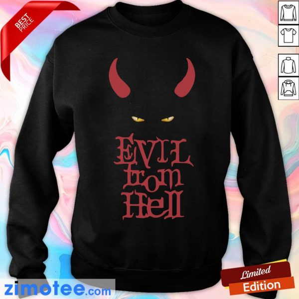 Funny Evil From Hell Sweater