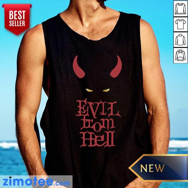 Funny Evil From Hell Tank Top
