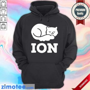 Lazy Cat Cation Ion Hoodie