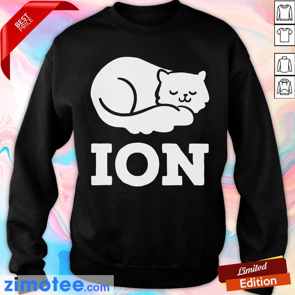 Lazy Cat Cation Ion Sweater