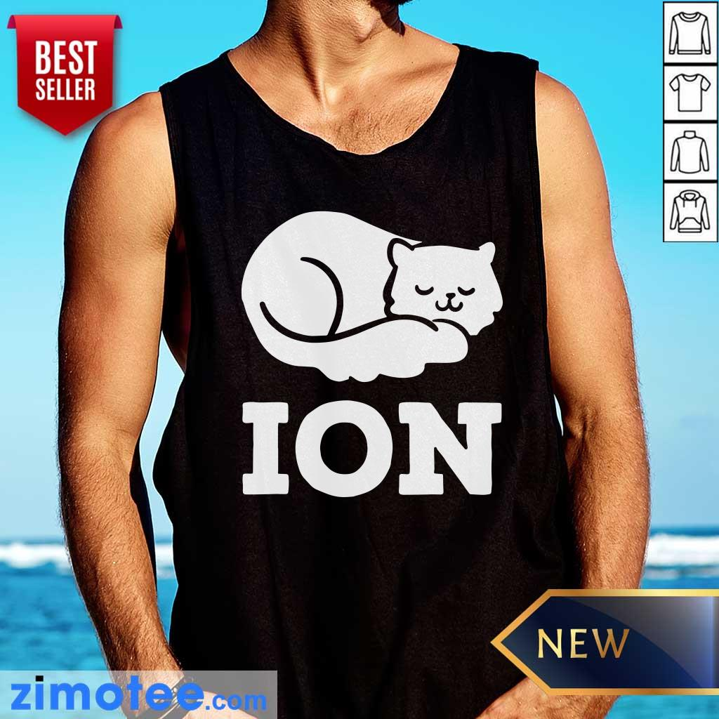Lazy Cat Cation Ion Tank Top
