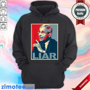 Liar Lied Vintage Retro Anthony Fauci Is Not My Doctor Hoodie
