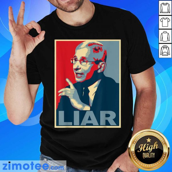 Liar Lied Vintage Retro Anthony Fauci Is Not My Doctor Shirt