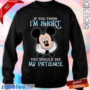 Mickey If You Think Short Patience Sweater