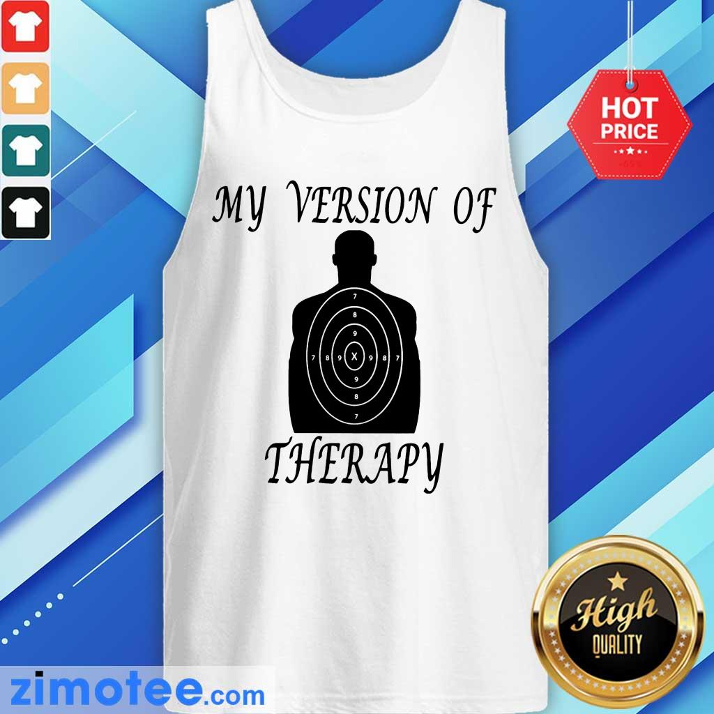 My Version Of Therapy Stele Tank Top
