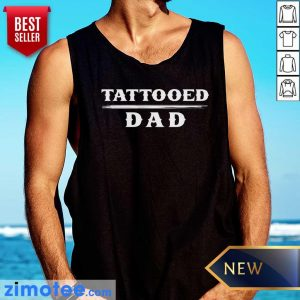 Official Tattooed Dad Tank Top