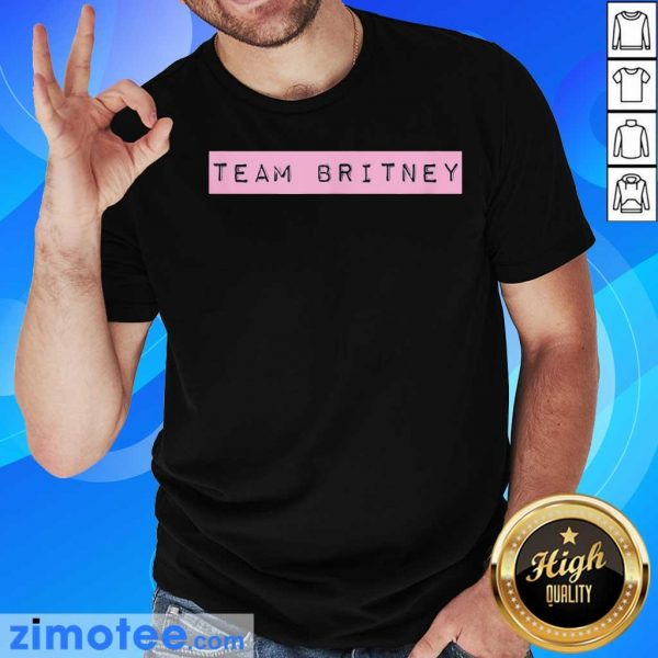 Official Team Britney Spears Shirt