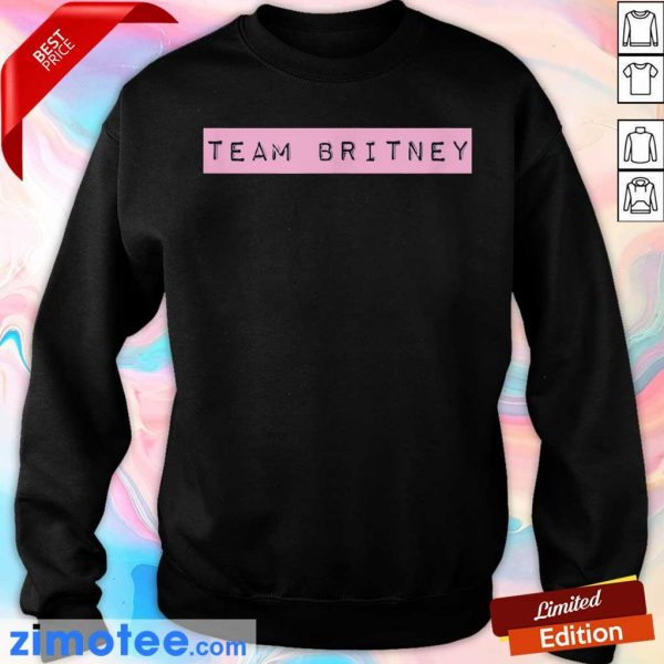 Official Team Britney Spears Sweater