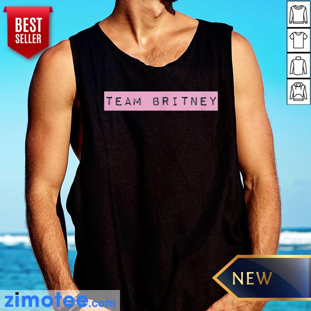 Official Team Britney Spears Tank Top