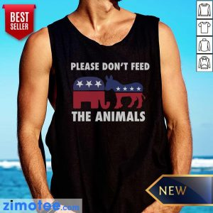 Please Don't Feed The Animals Libertarian Tank Top
