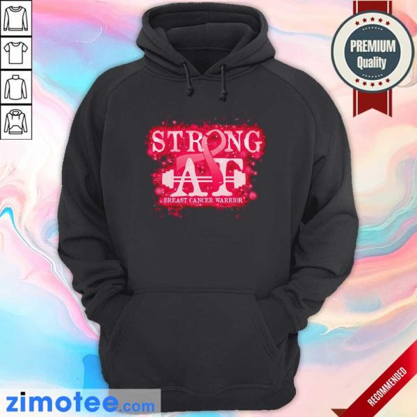 Strong At Breast Cancer Warrior Hoodie