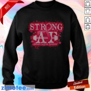 Strong At Breast Cancer Warrior Sweater