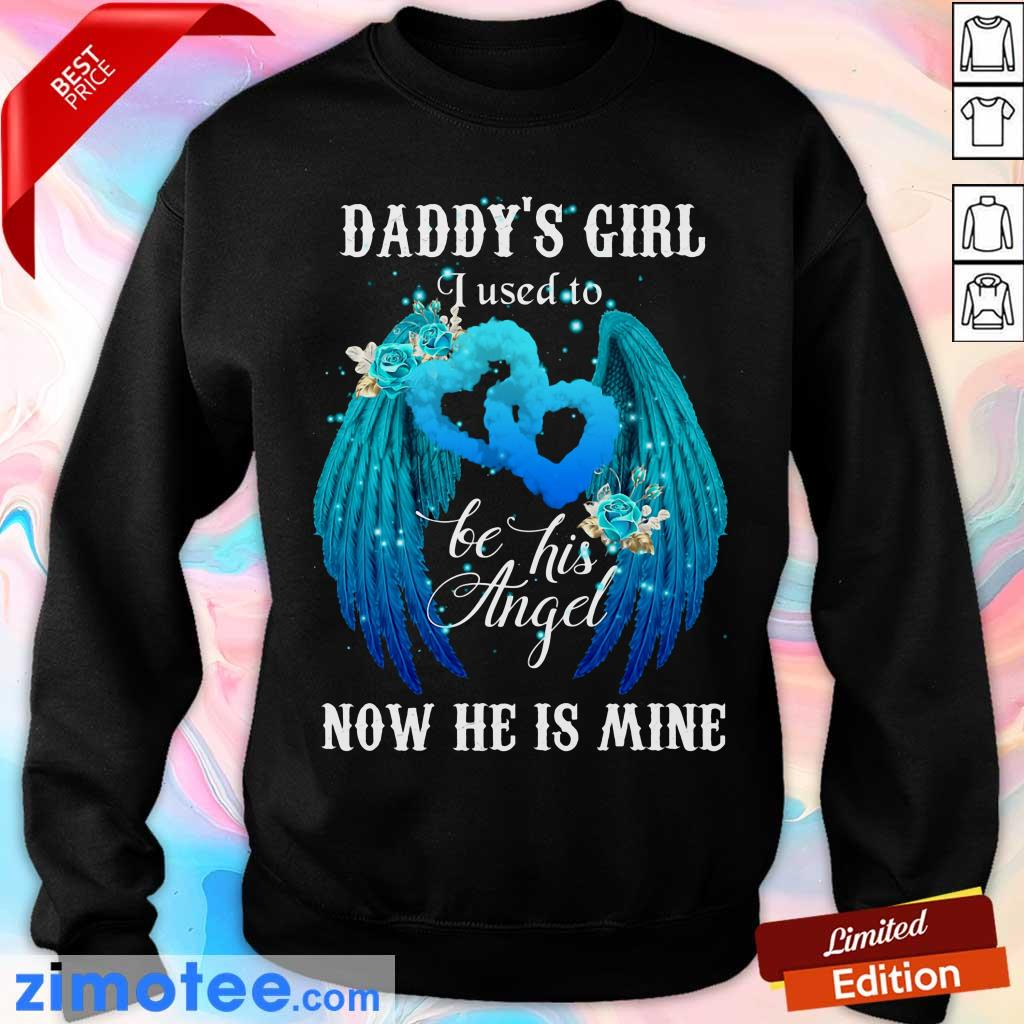 Wing Daddys Girl Used To Be Angel Now He Mine Sweater
