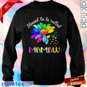 Daisy Flower Blessed To Be Called Mamaw Sweater