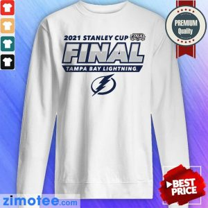 Tampa Bay Lightning 2021 Stanley Cup Final Sweater