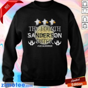 Fourth Sanderson Sister #Socialworker Ghost Moon Sweater
