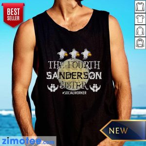 Fourth Sanderson Sister #Socialworker Ghost Moon Tank Top